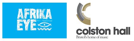 Colston Hall and Afrika Eye Logo