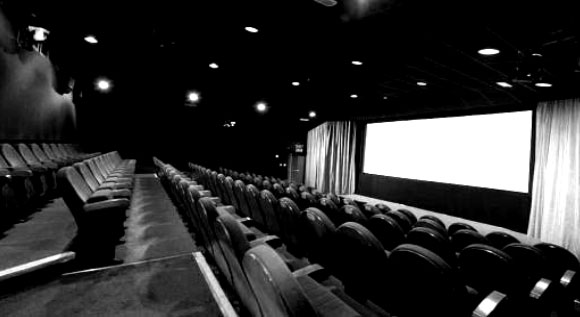 Auditorium seating at the cinema
