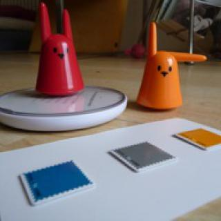 Violet Mir:ror: RFID reader by Ton Zijlstra from Flickr