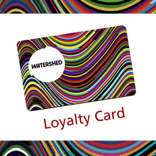 A picture of a Watershed loyalty card