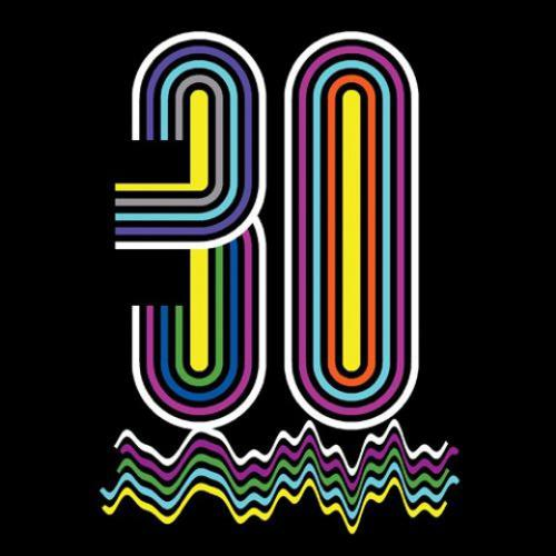 30th Birthday Logo - by Joe Magee