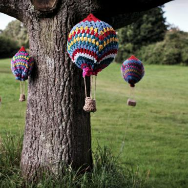 Yarn bombing by topsynette