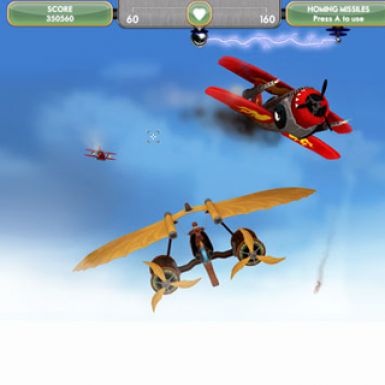 Remode's Sky Cycle game screen-shot