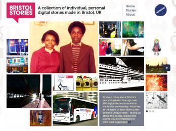 Bristol Stories website