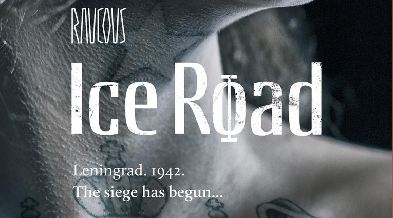 close up of tattooed woman with Ice Road written across the image