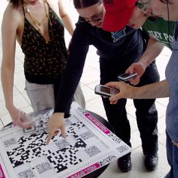Participants playing I Can Read You
