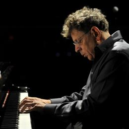 Photo of Philip Glass by Fernando Aceves