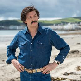 Still from Mindhorn, starring Julian Barrett