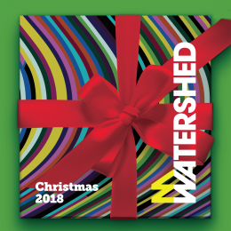 Watershed Christmas Party hire flyer image