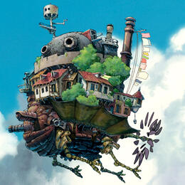 Still from Howl's Moving Castle, directed by Hayao Miyazaki
