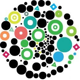 A circle of bubbles