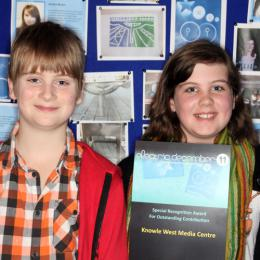 Knowle West Media Centre won a Special Recognition Award