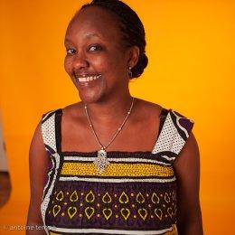 Judy Kibinge, director of Something Necessary