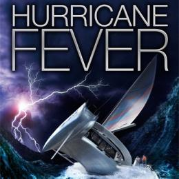 Hurricane Fever book cover by Tobias Buckell