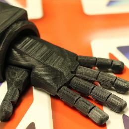 3D printed robotic hand from Open Bionics