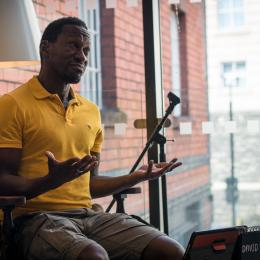 David Ellington at our Matilda Read in a Day (credit: Jon Aitken)