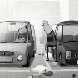 Carpark by Ant Blades, winner of DepicT! '14