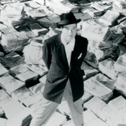 Picture of Orson Wells in Citizen Kane