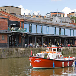 Photo of the exterior of Watershed in Bristol's harbourside