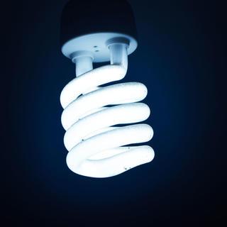 Photo of an LED lightbulb