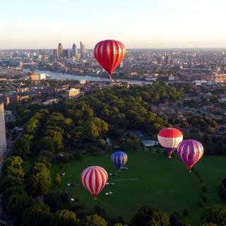 Sky Orchestra, London, photo by Luke Jerram
