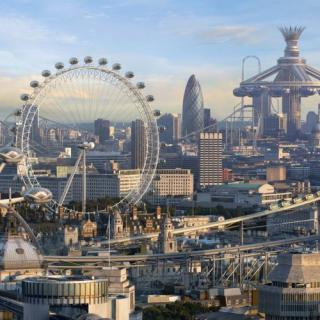 What do you think Bristol will be like in 2214?