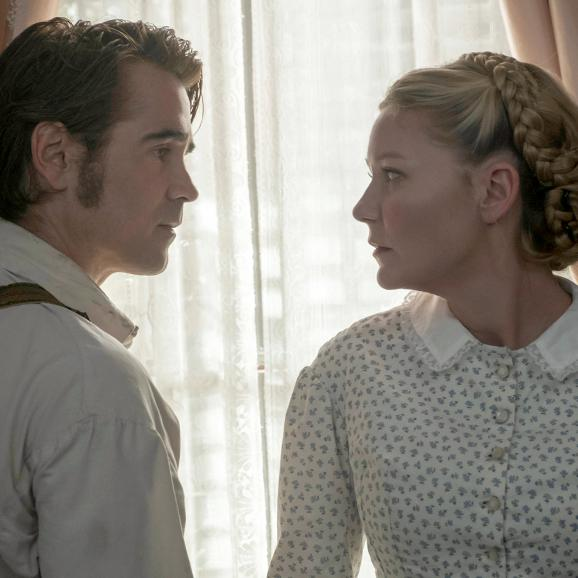 Colin Farrell and Kirsten Dunst in The Beguiled