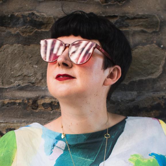 Photo of Clare REddington by Jon Aitken