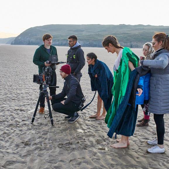 BFI NETWORK South West Short Film 'Mermaids' Dir. Yazmin Joy Vigus
