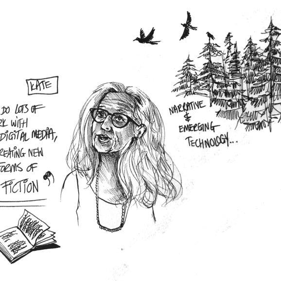 illustration of Kate