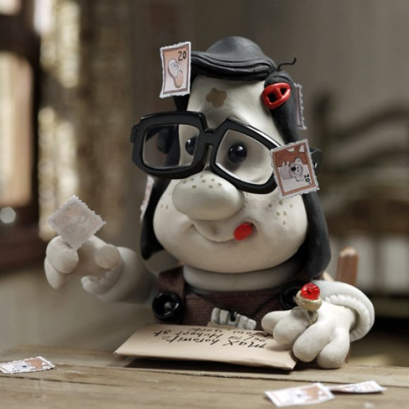 Mary from Mary and Max writing a letter
