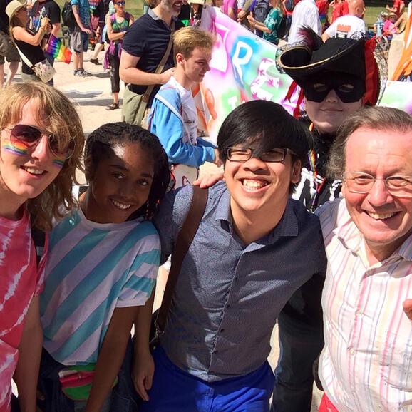 The Rife and Brook team at Bristol Pride