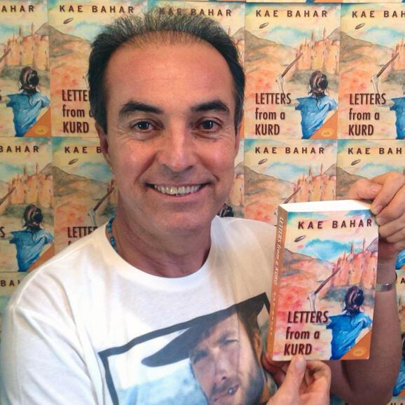 Kae Bahar with his book