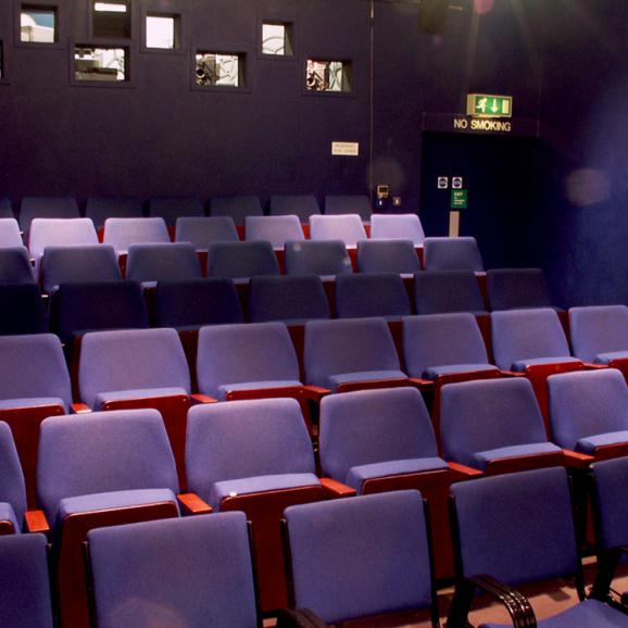 Photo of interior of Watershed Cinema 2
