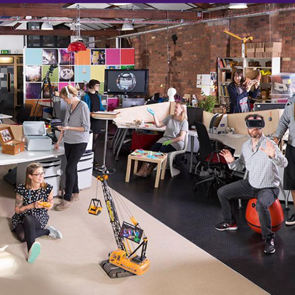 Residents of Watershed's Pervasive Media Studio