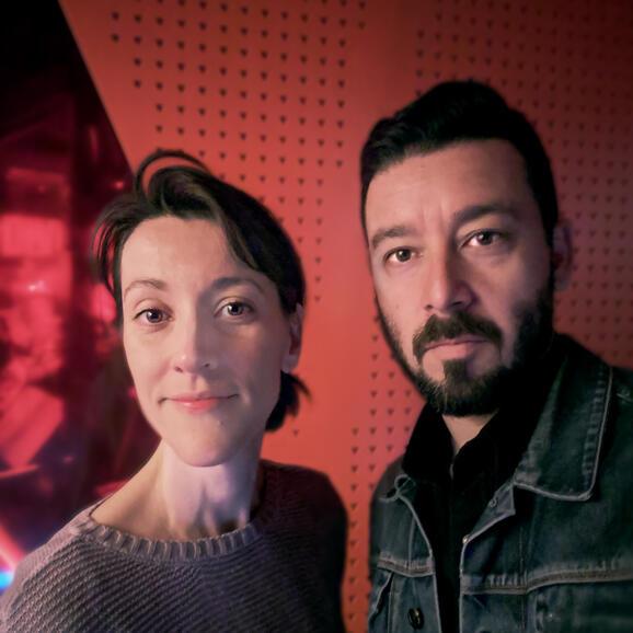 Katy and Oscar