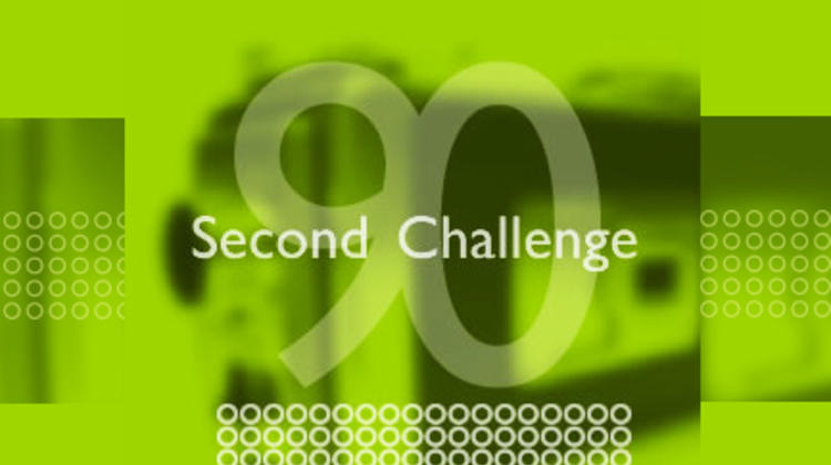 90 second challenge logo