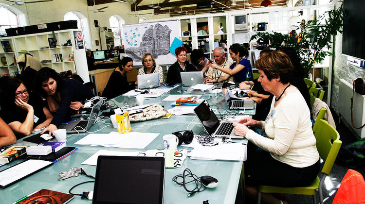 Grundtvig participants at work