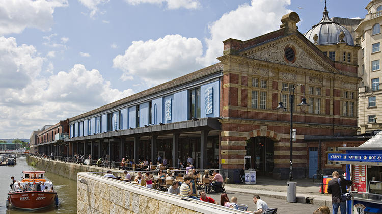Photo of the exterior of Watershed, Bristol