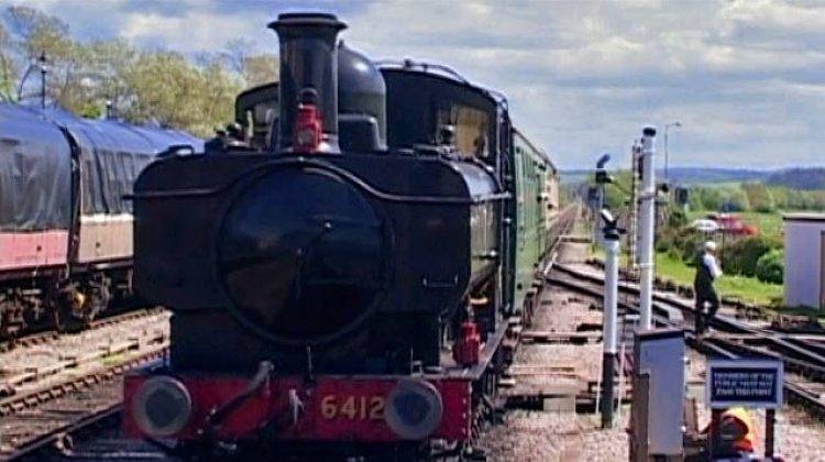 Photo of steam train