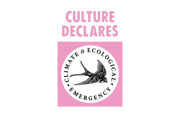 Culture Declares Climate & Ecological Emergency logo