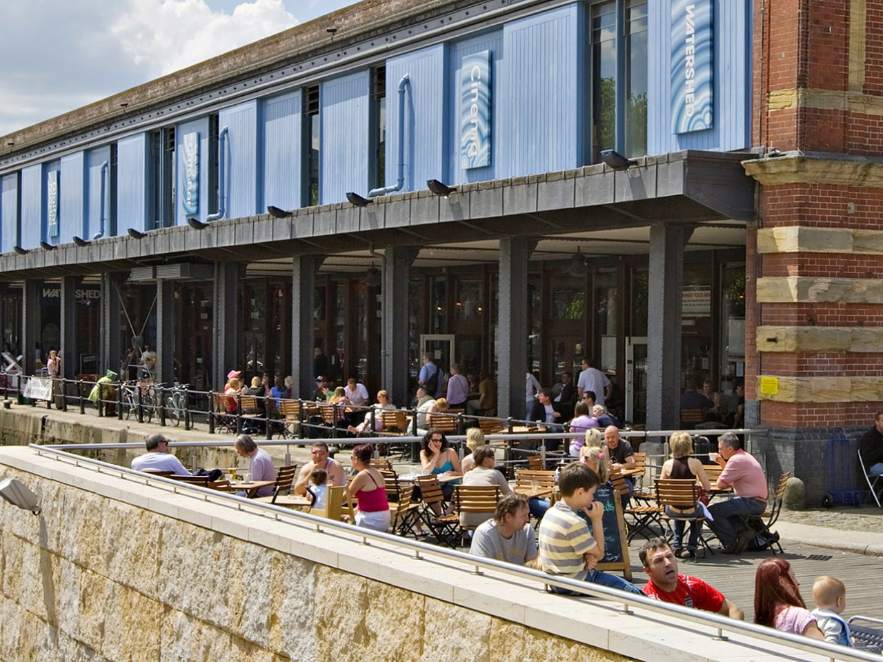 Exterior photo to Watershed, Bristol