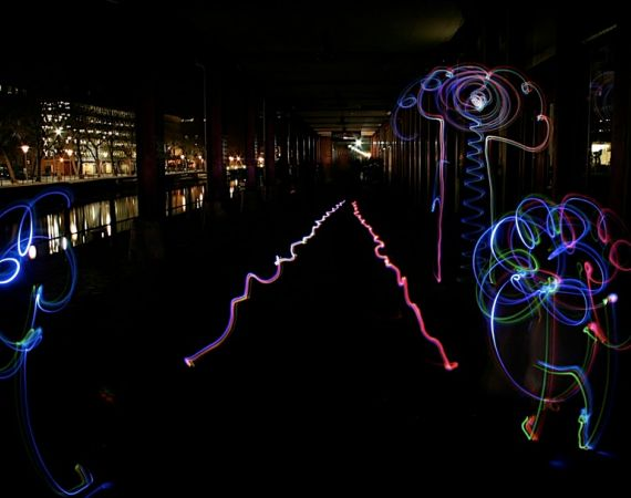 Light Grafitti by Tine Bech