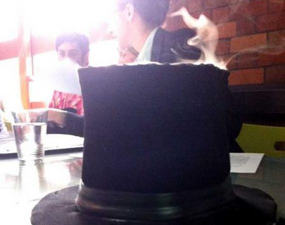 The Smoking Top Hat