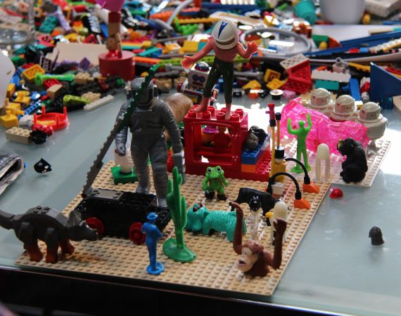 Photo of a Lego workshop by Fee Plumley