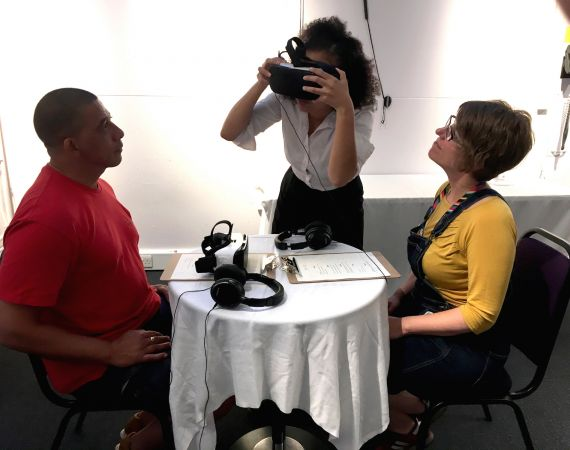 VR Sessions at Watershed, June 2017