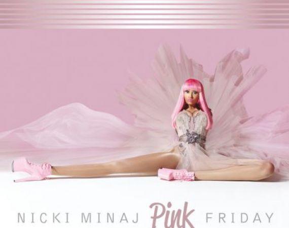 Image: 'Pink Friday' album cover © Nicki Minaj 2010