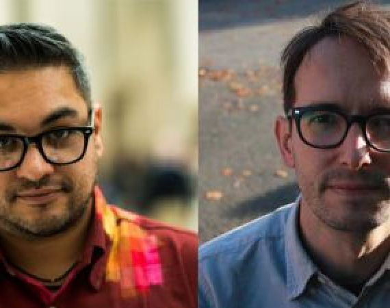 Nikesh Shukla and Chris Killen