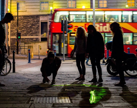 Playable City Winner 2015: Urbanimals by LAX photo by Paul Blakemore