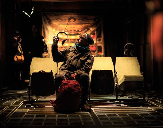 Max Mclure REACT The Rooms festival Memory of Theatre  Paul Clarke, University of Bristol with Bristol Old Vic Theatre
